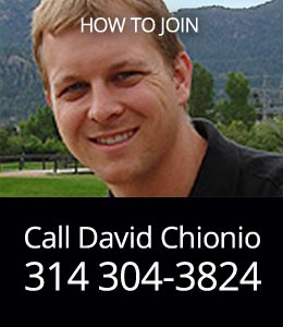 Call David Chionio: (314) 304-3824